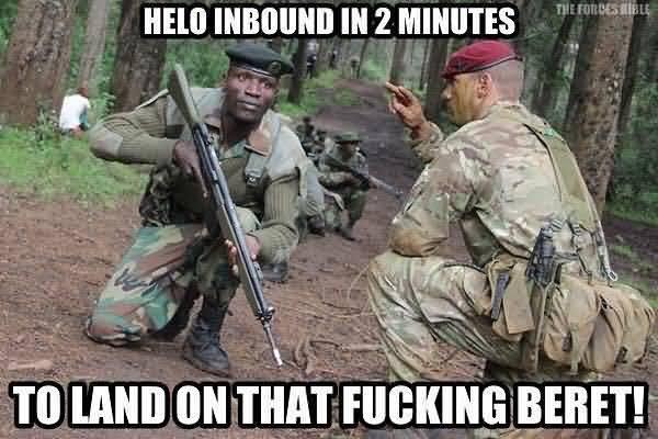 Hilarious common british army memes jokes