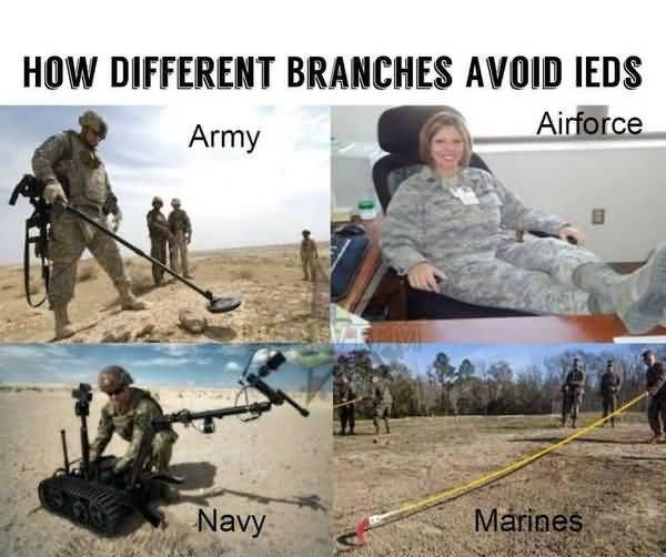 Hilarious common funny soldier memes picture