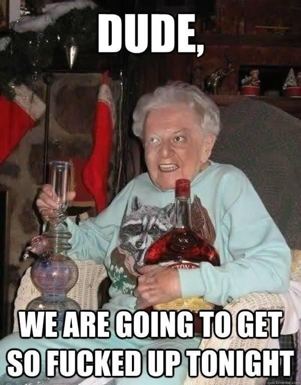 Hilarious lets party meme joke