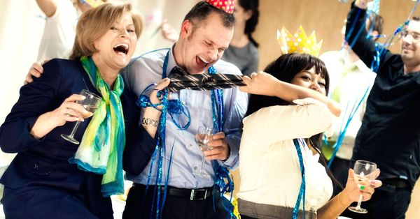 Hilarious office party photos jokes