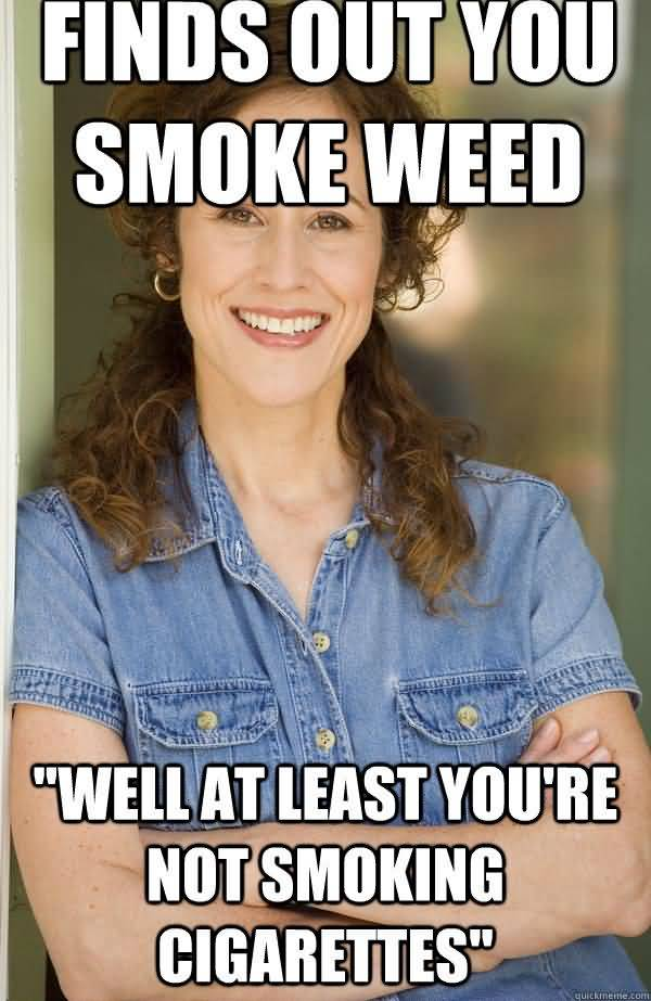 Hilarious out of weed meme image