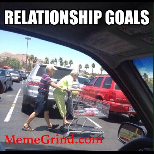 Hilarious relationship goals meme photo
