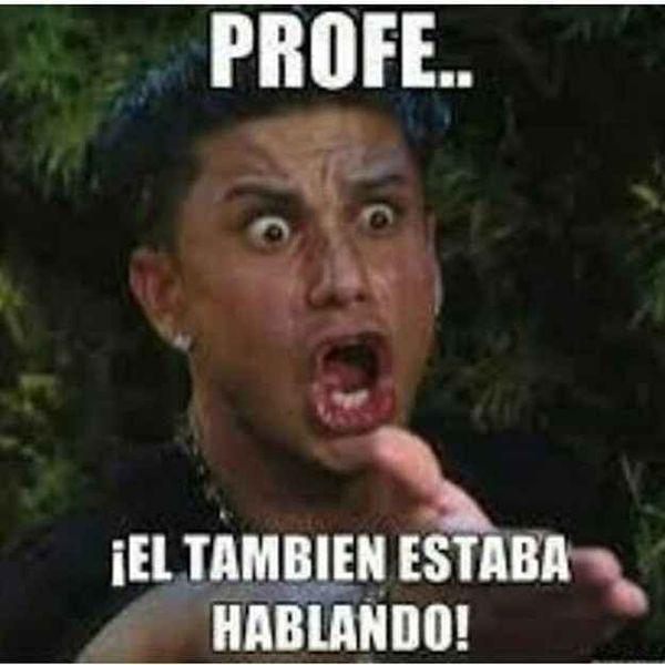 Hilarious simple spanish class memes image