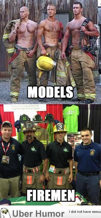 Hot Firefighter Meme Funny Image Photo Joke 11