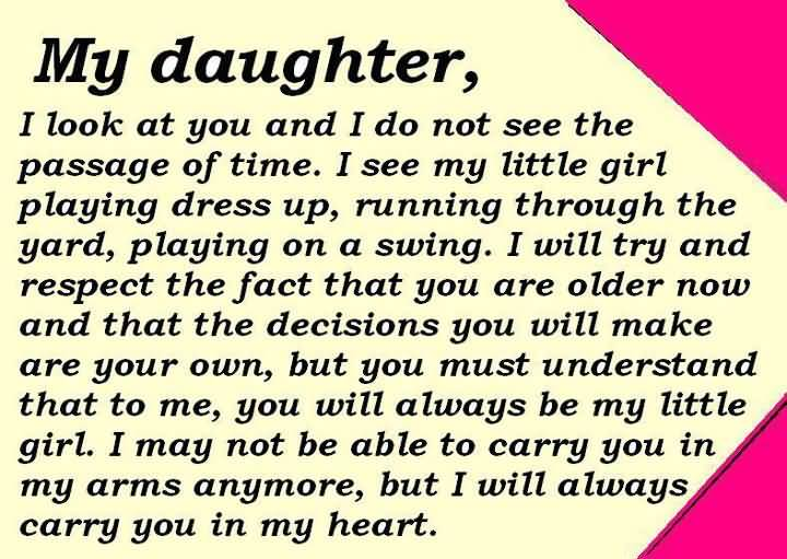 I Miss My Daughter Quotes Meme Image 20 | QuotesBae