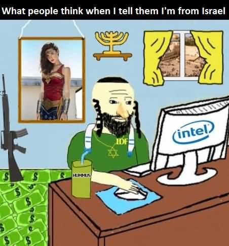 Israel Meme Funny Image Photo Joke 04
