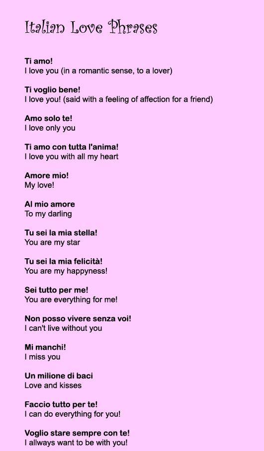 Italian Love Quotes Meme Image 16
