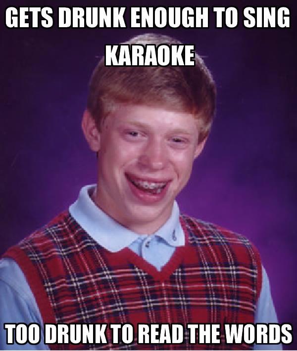 Karaoke Meme Funny Image Photo Joke 06