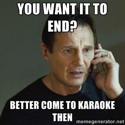 Karaoke Meme Funny Image Photo Joke 14