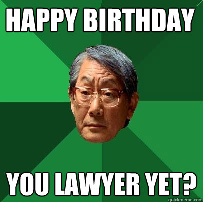 Lawyer Birthday Meme Joke Image 11