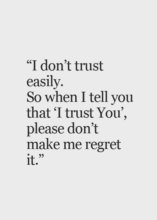 Love And Trust Quotes Meme Image 10