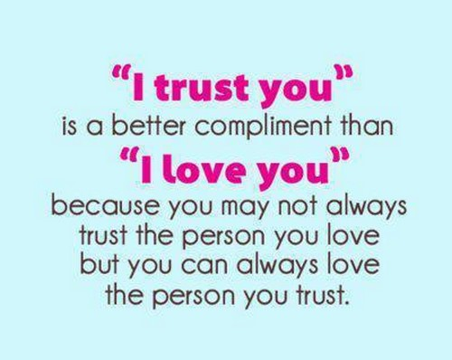Love And Trust Quotes Meme Image 12