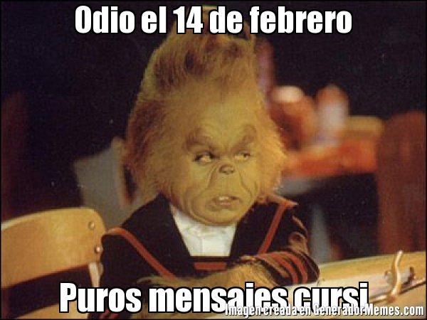 Memes De 14 De Febrero Funny Image Photo Joke 02