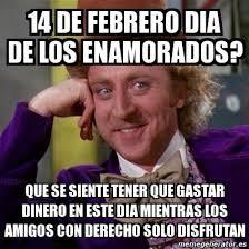 Memes De 14 De Febrero Funny Image Photo Joke 14