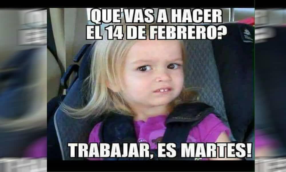 Memes De 14 De Febrero Funny Image Photo Joke 15
