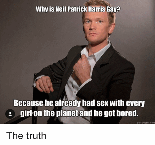 Neil Patrick Harris Meme Funny Image Photo Joke 08