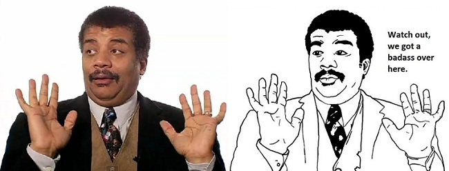 Neil Tyson Meme Funny Image Photo Joke 07