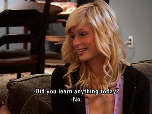 Paris Hilton Quotes Meme Image 02