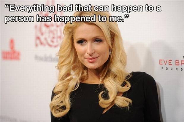 Paris Hilton Quotes Meme Image 13
