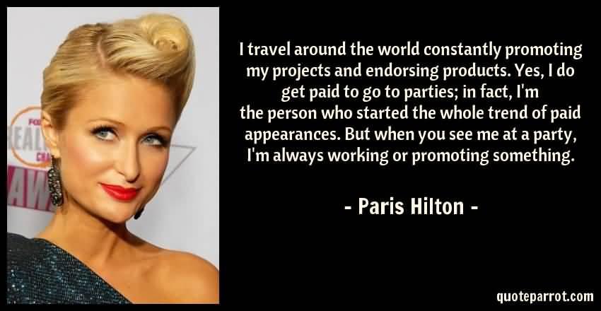 Paris Hilton Quotes Meme Image 21