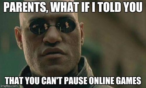 Pause Meme Funny Image Photo Joke 07