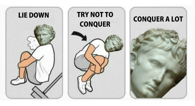 Roman Meme Funny Image Joke 03
