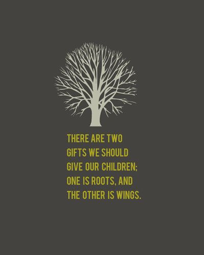 Roots And Wings Quote Meme Image 09
