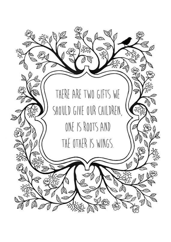 Roots And Wings Quote Meme Image 10