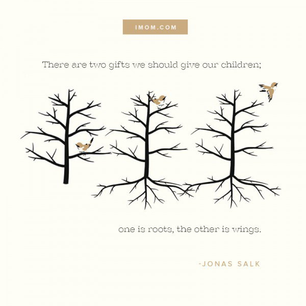 Roots And Wings Quote Meme Image 12