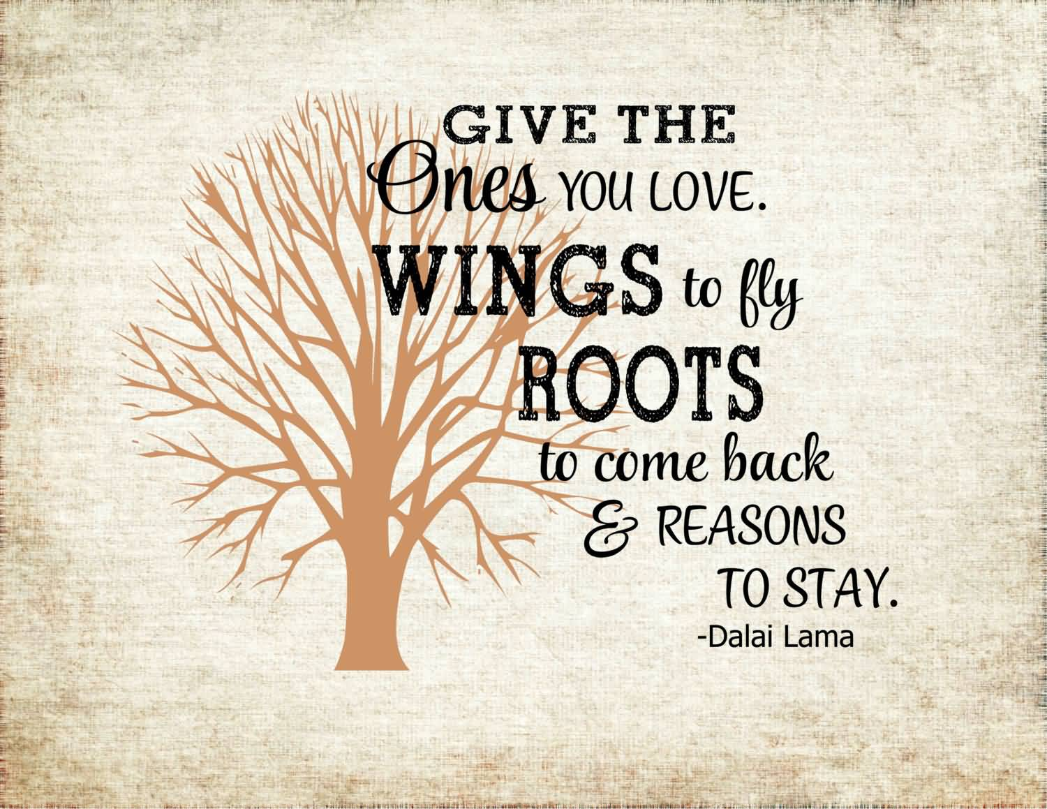 Roots And Wings Quote Meme Image 13
