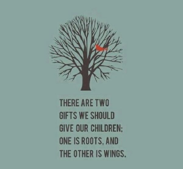 Roots And Wings Quote Meme Image 20