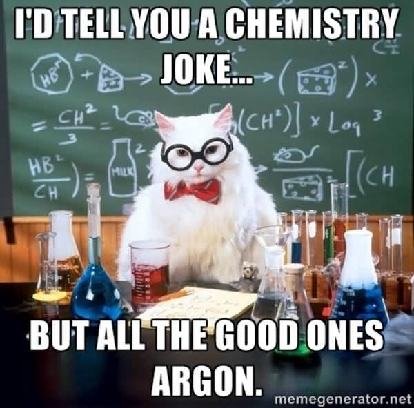 Science Cat Meme Funny Image Photo Joke 07