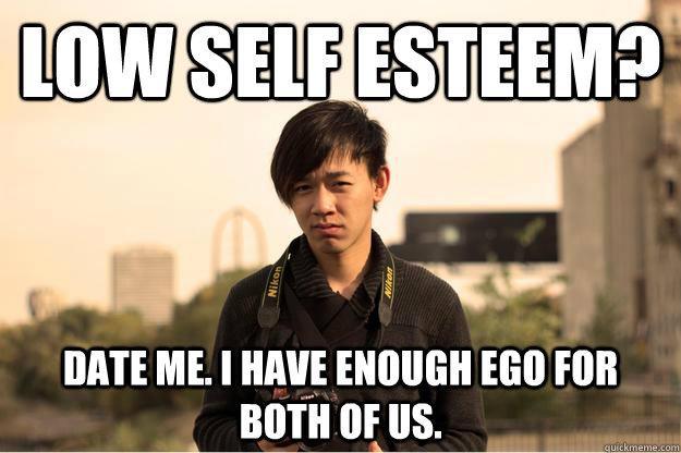 Self Esteem Meme Funny Image Photo Joke 08