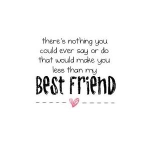 Short Best Friend Quote Meme Image 12