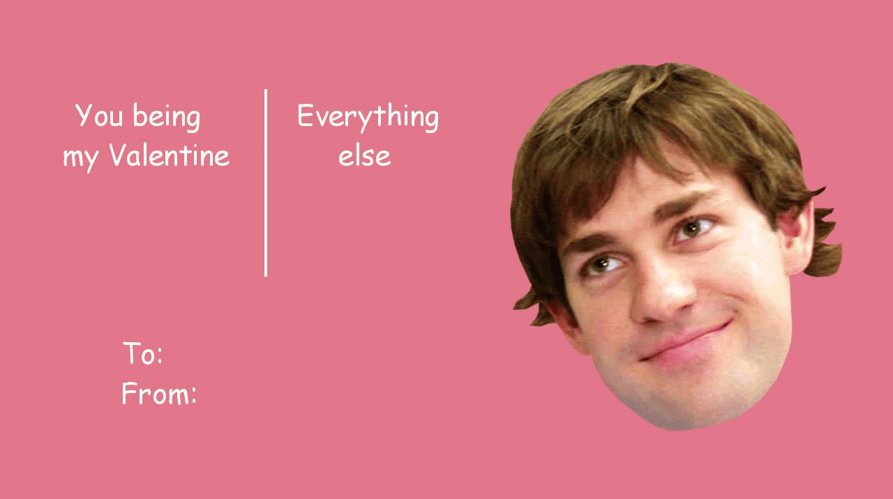 The Office Valentines Meme Funny Image Photo Joke 03