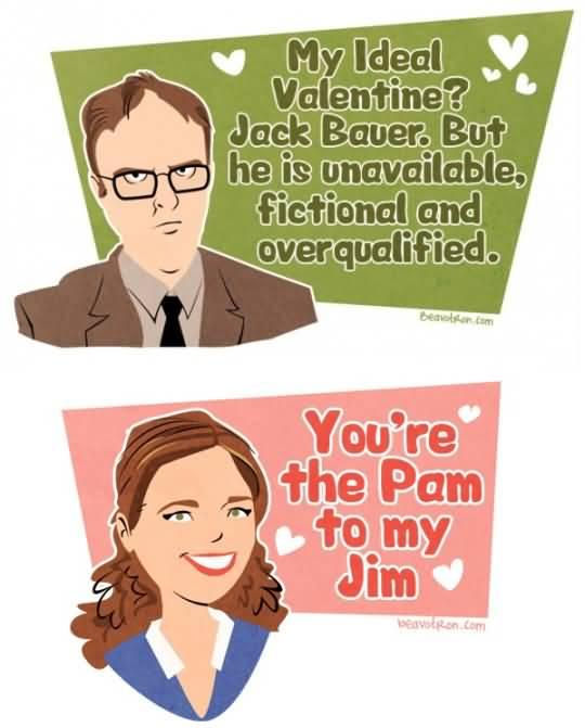 The Office Valentines Meme Funny Image Photo Joke 07