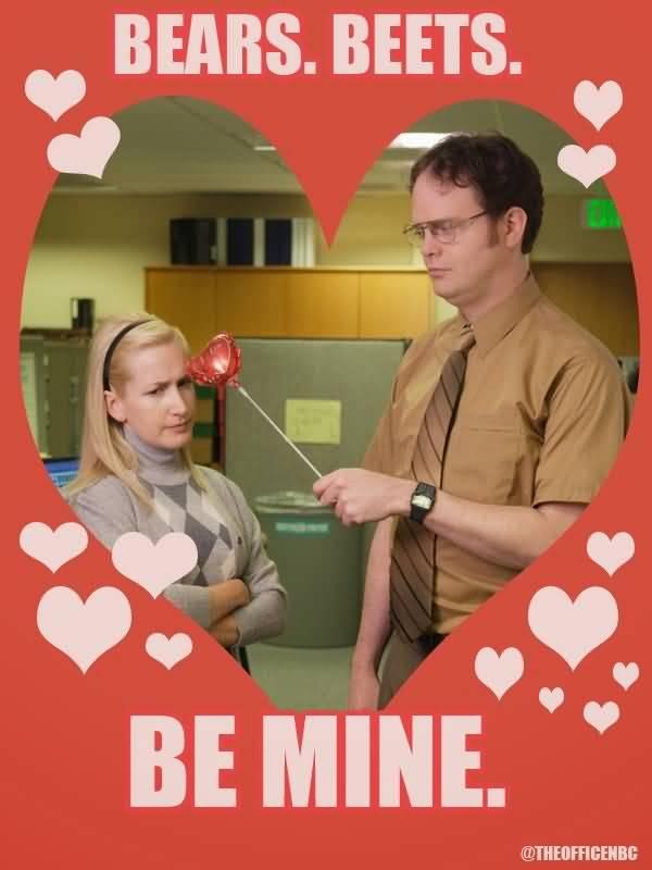 The Office Valentines Meme Funny Image Photo Joke 11