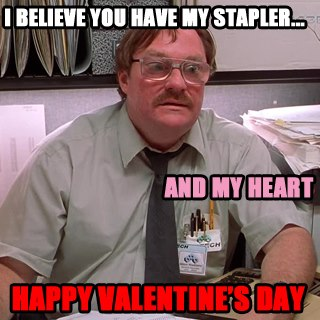 The Office Valentines Meme Funny Image Photo Joke 15