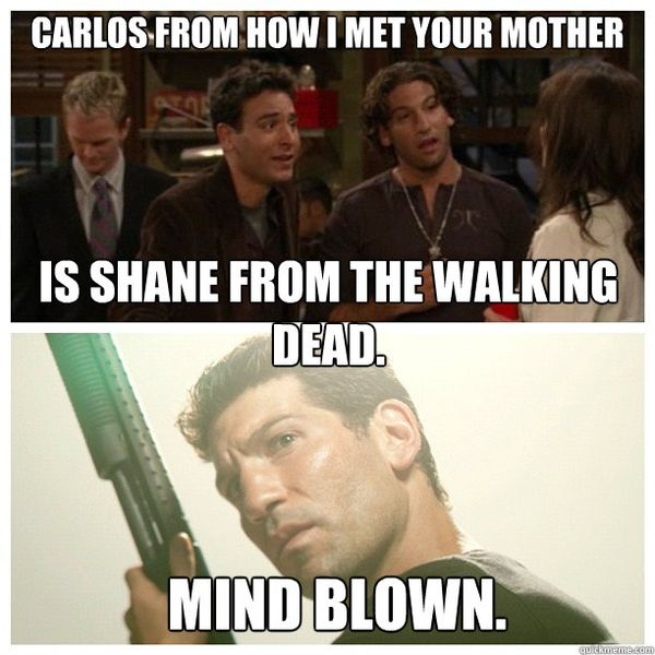 Very Funny shane walking dead meme jokes