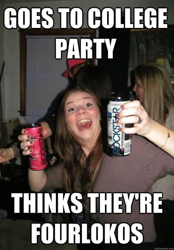 Very funny party girl meme jokes