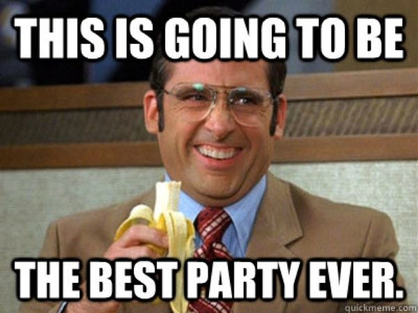 Very funny partying images meme