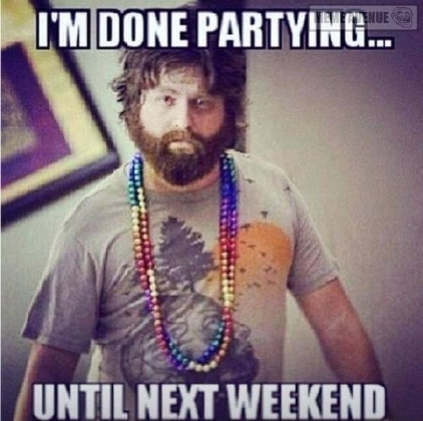Very funny partying images memes