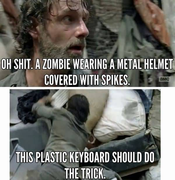Very funny walking dead memes photo