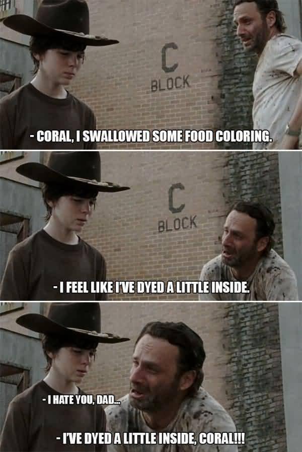Walking Dead Memes Coral Joke Image 11