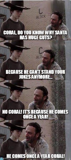 Walking Dead Memes Coral Joke Image 12