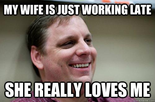 Work Wife Meme Funny Image Photo Joke 03