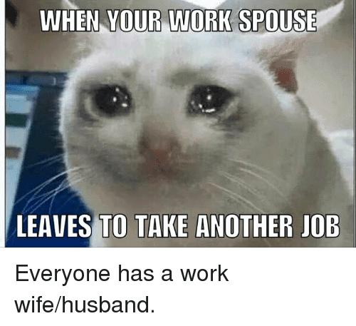 Work Wife Meme Funny Image Photo Joke 10