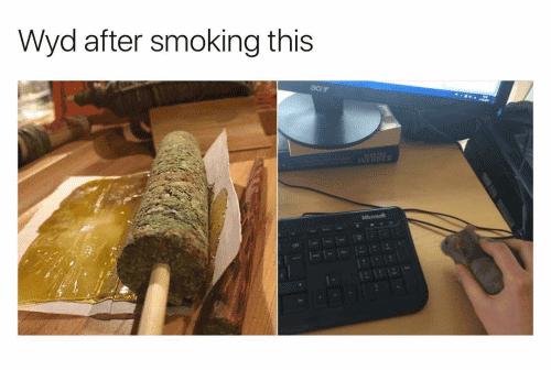 Wyd After Smoking This Meme Photo Joke 12