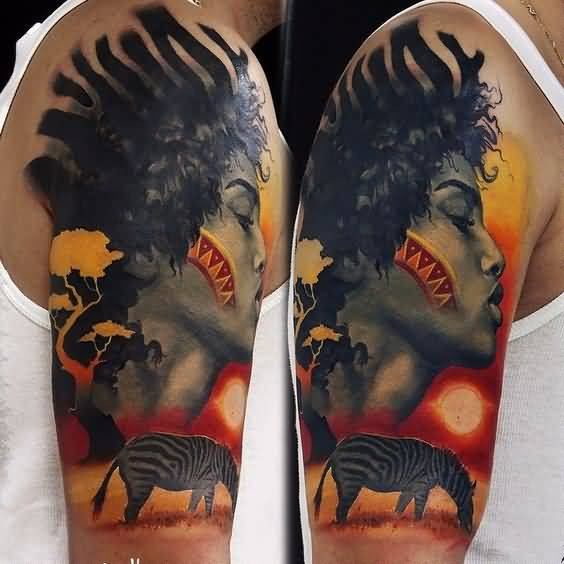 African Tattoo Design Picture 16