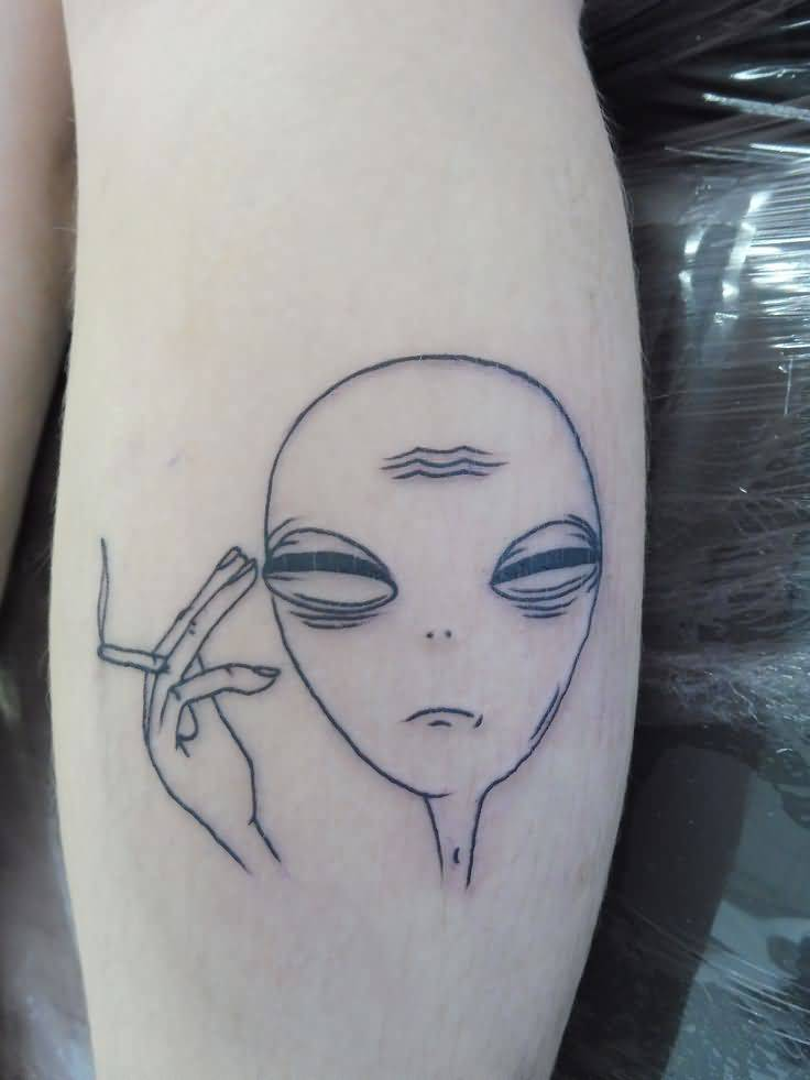 Alien Tattoo Design Picture 15
